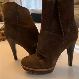 Ugg ankle booties.